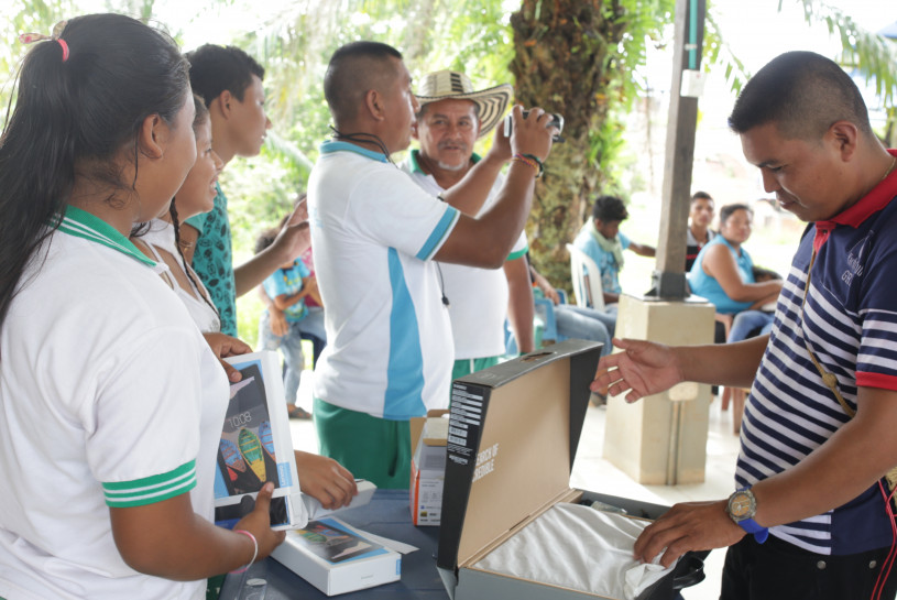 Acción comunicativa: Noticiero Rural El Pando